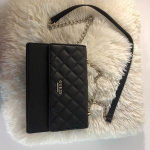 Guess Black Purse Handbag